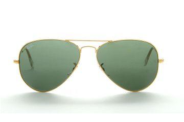 רייבן L0205 58 RB3025זהב ע.ירוקה